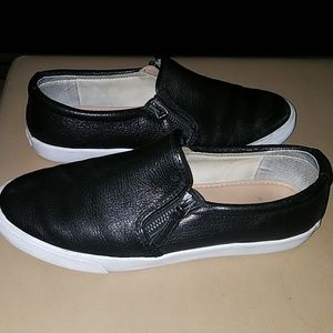 Banana Republic Black slip on shoes